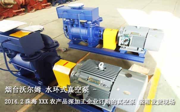 水环式真空泵图片,水环式真空泵案例,水环式真空泵应用