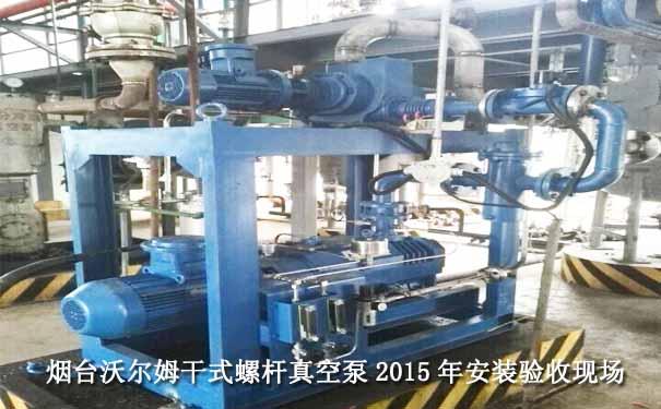 2015.10四川某化工SDP300干式螺杆真空泵项目案例