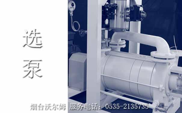 选泵:真空泵的选型,沃尔姆为您提供真空系统解决方案